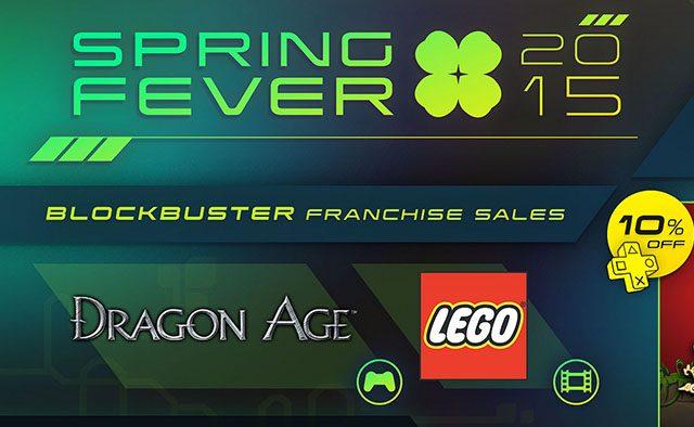 Spring Fever Sexta Semana: Bastion hoy a la venta, Dragon Age y más