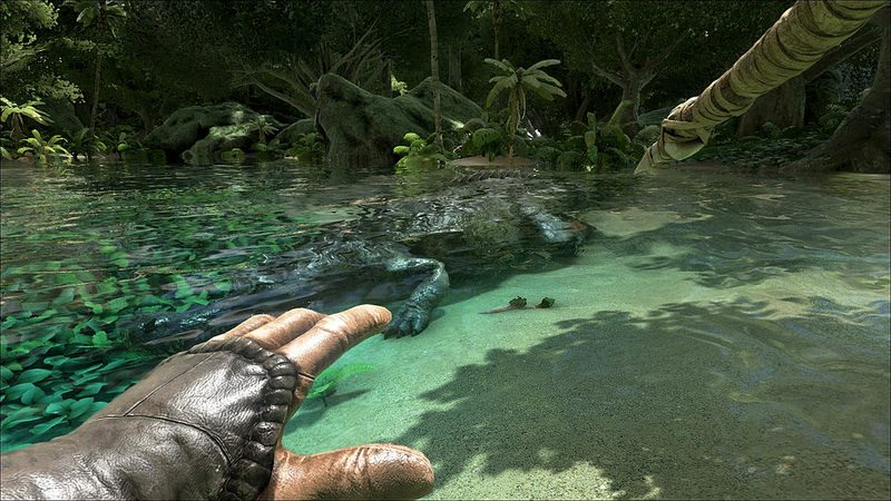 ARK: Survival Evolved llega para PS4 y Project Morpheus