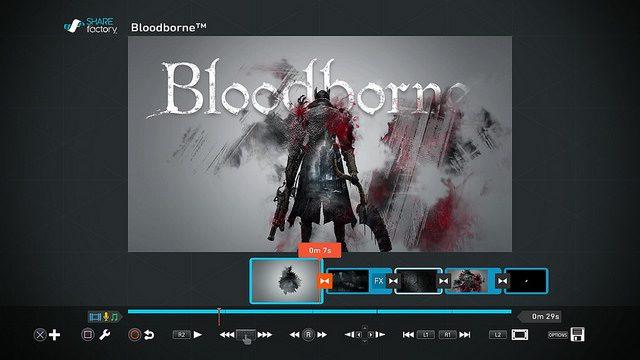 Bloodborne: nuevo tema SHAREfactory y notas del Patch 1.04