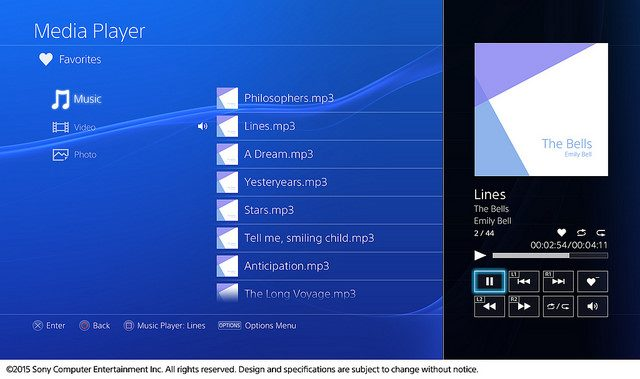 Media Player Llega a PS4