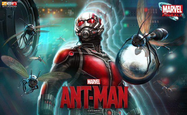 Ant-Man Pinball llega a PS4, PS3, y PS Vita el 15 de julio