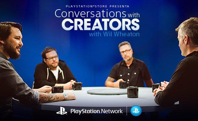"""Conversations with Creators with Wil Wheaton"" Estreno 07 de julio"