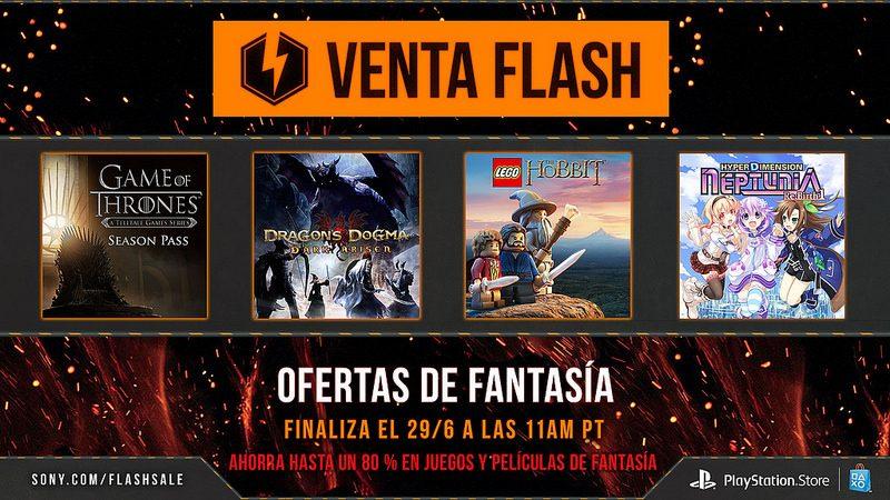 Venta Flash: Ofertas de Fantasía