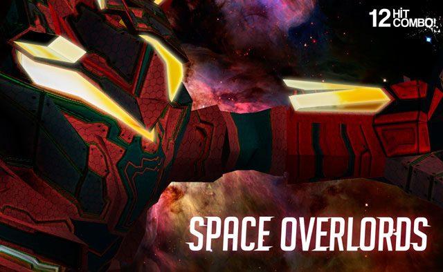 Space Overlords Llega pronto para PS Vita, PS3, y PS4!