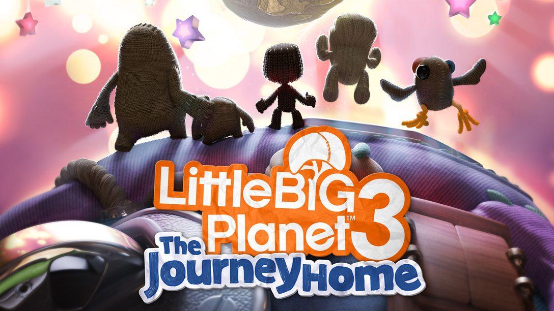 LittleBigPlanet 3: The Journey Home disponible el próximo mes