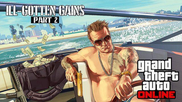 Parte 2 de la Actualización de The Ill-Gotten Gains para GTA Online Disponible Hoy