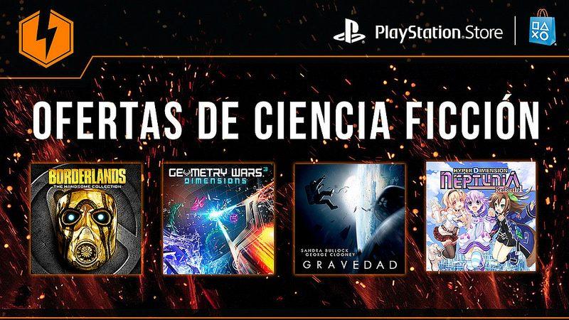 México Flash Sale: Juegos y Películas de Ciencia Ficción en Oferta