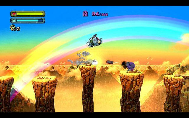 Tembo The Badass Elephant disponible mañana: El debut en PS4 de Game Freak