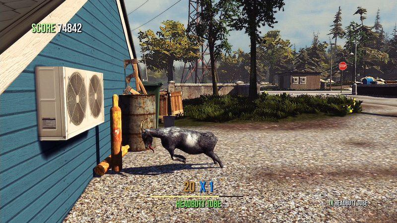 Goat Simulator llega a PS4 y PS3 el 11 de agosto