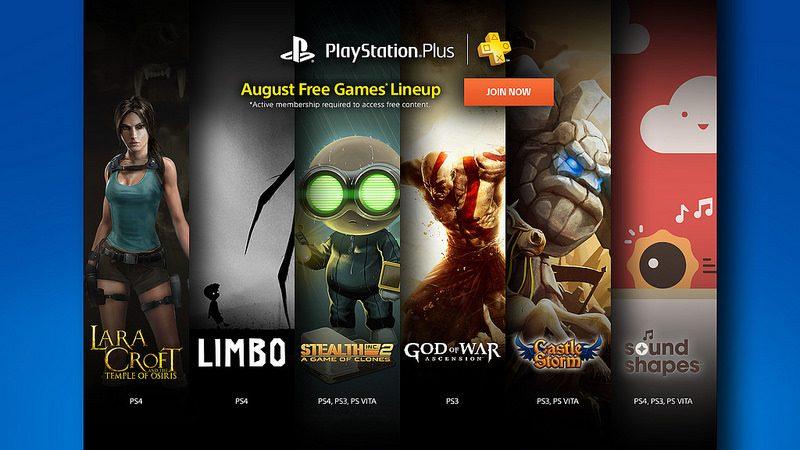 Juegos Gratis de PlayStation Plus para Agosto