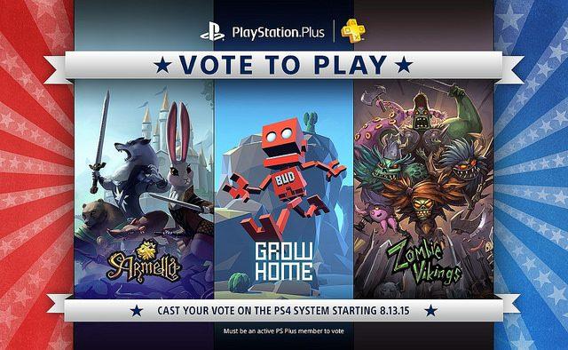 Vota para Jugar empieza este jueves, Ayúdanos decidir la próxima línea de juegos de PS Plus