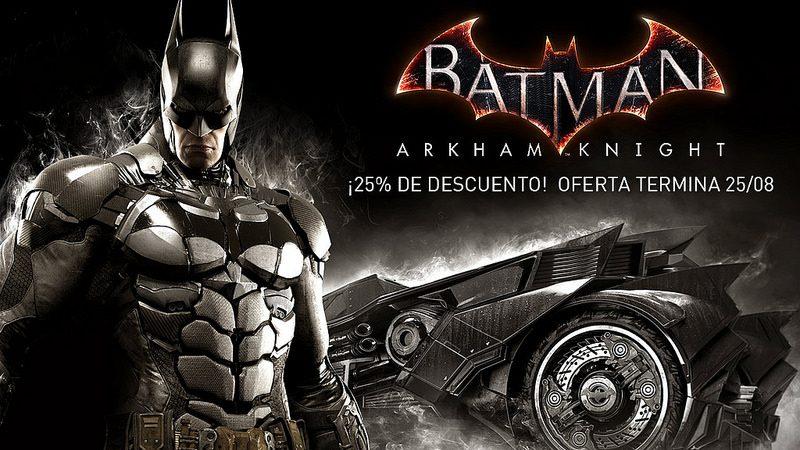 Por una semana llévate Batman: Arkham Knight con un precio especial