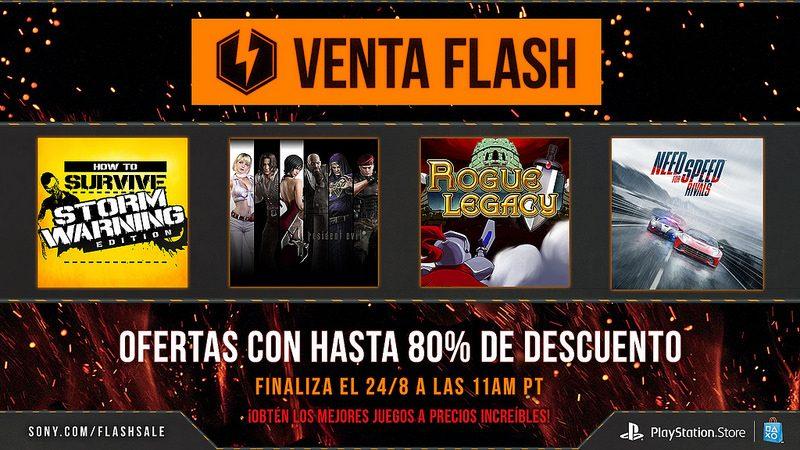 Venta Flash: Ofertas con hasta el 80% de descuento