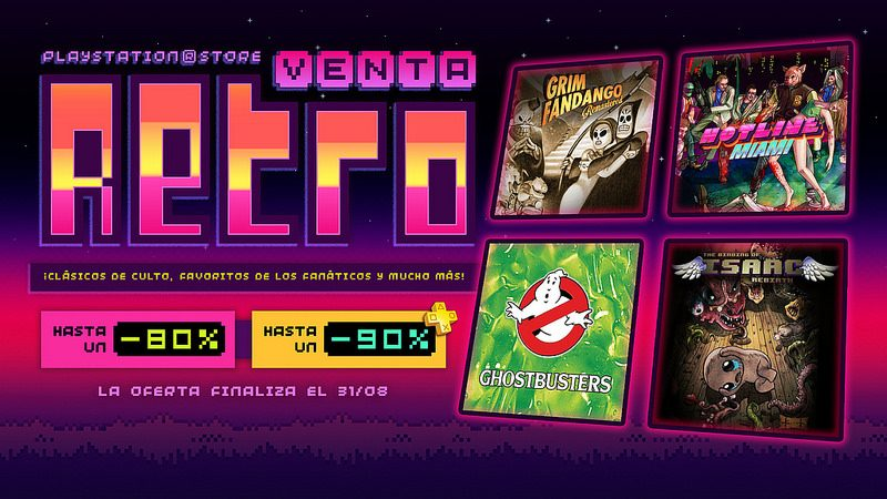Venta Retro México: Los Mejores Títulos de Películas y Juegos Clásicos Justo a Tiempo para PAX