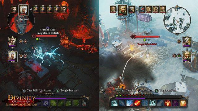 Divinity Original Sin Enhanced Edition: Un juego RPG cooperativo para jugar desde el sofá en PS4