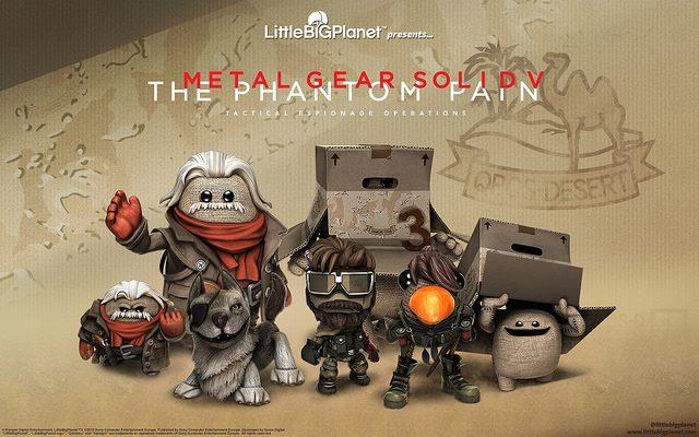 Disponible hoy el DLC de LittleBigPlanet 3: Metal Gear Solid V
