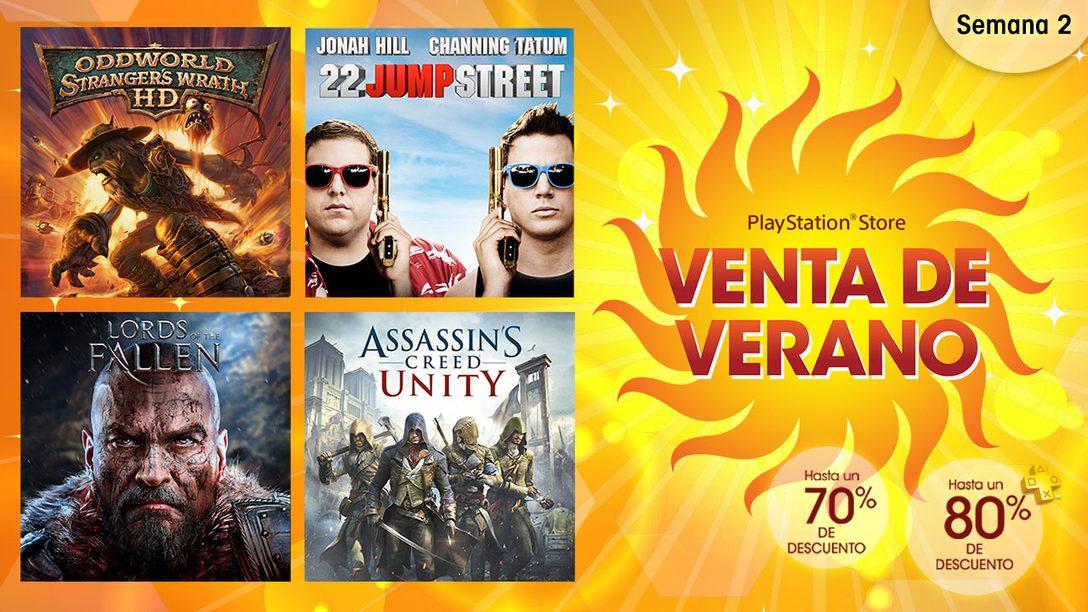 Segunda semana de la Venta de Verano de PlayStation Store México
