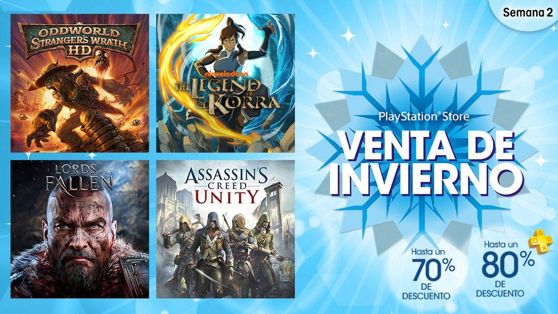 Segunda Semana de la Venta de Invierno de PlayStation Store LATAM