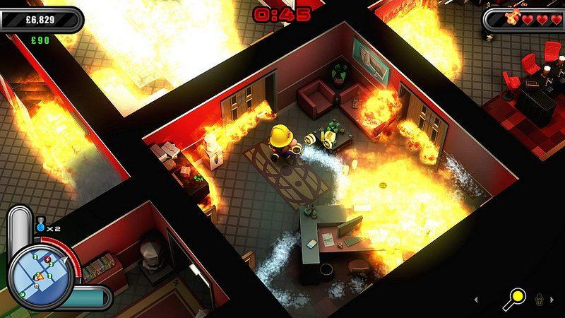 Flame Over, el aclamado juego de tipo rogue y lucha contra incendios, llega a PS4 la próxima semana