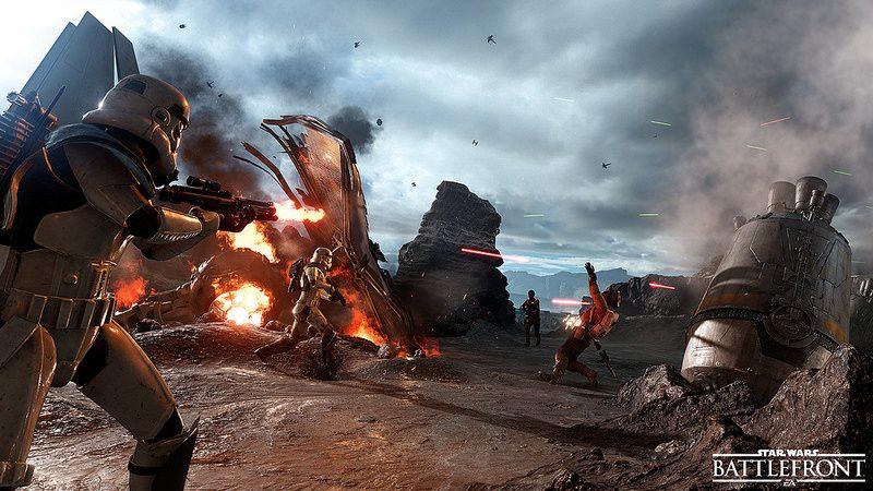La Beta de Star Wars Battlefront empieza el 8 de octubre en PS4