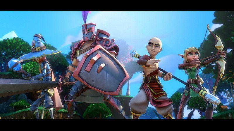 Dungeon Defenders II llega a PS4 el 29 de septiembre