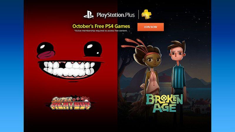 PS Plus: Juegos gratis para octubre 2015