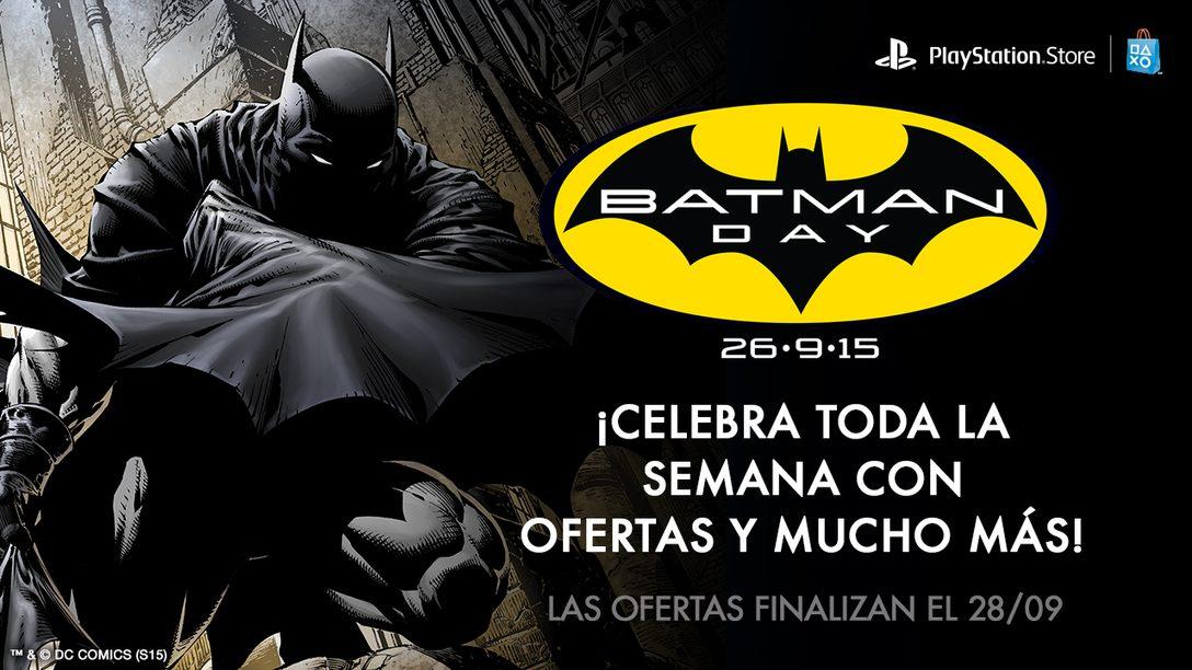 Una Semana de Ofertas para Celebrar Batman Day