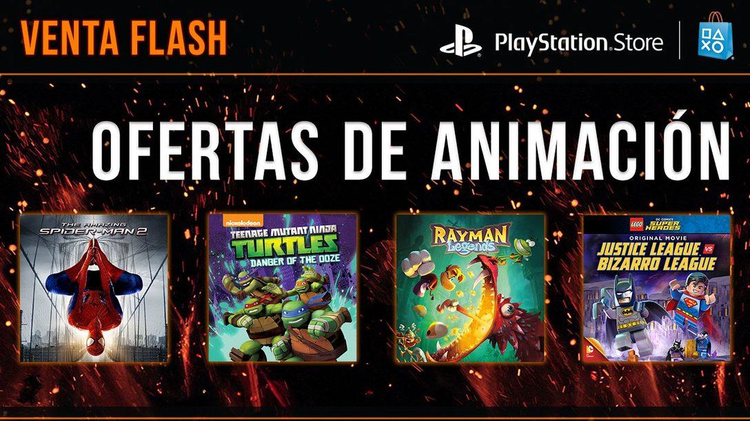 Venta Flash: Ofertas de Animación para México