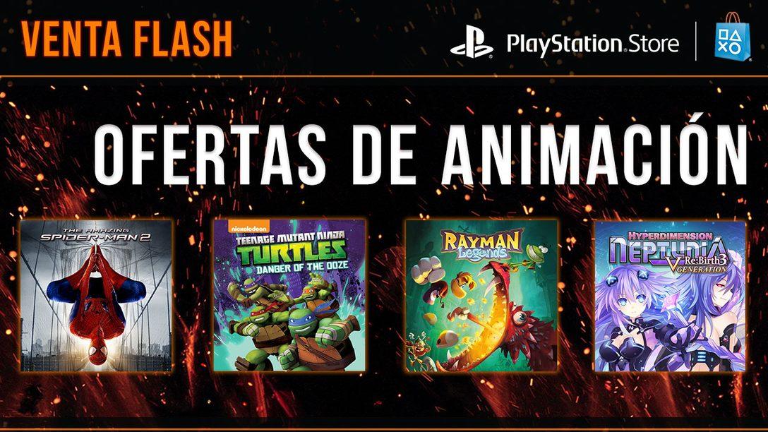 Venta Flash: Ofertas de Animación para LATAM