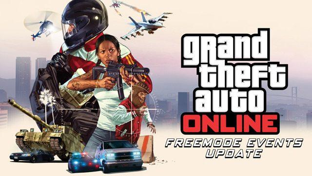 Actualización de los Eventos Freemode de GTA Online, Disponible ya para PS4