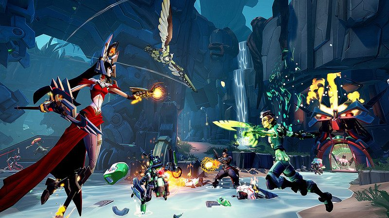 La beta abierta de Battleborn llega primero a PS4 en 2016