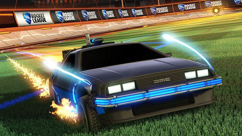 Rocket League hace su Back to the Future