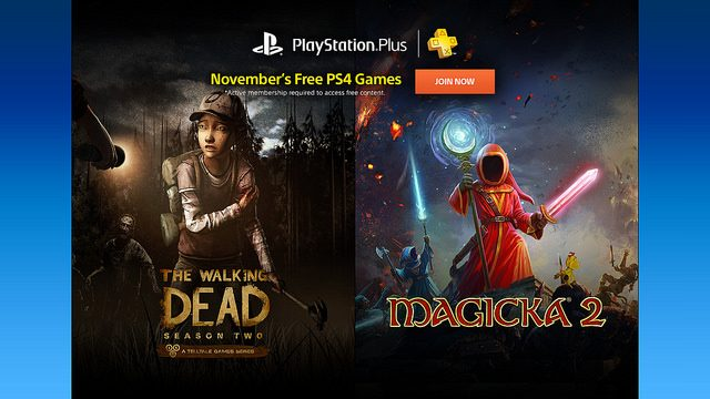 PS Plus: juegos gratuitos para el mes de noviembre, 2015