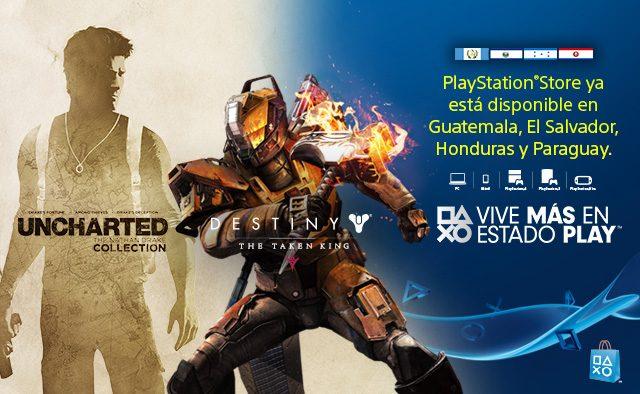 PlayStation Network ya está disponible en Guatemala, El Salvador, Honduras y Paraguay