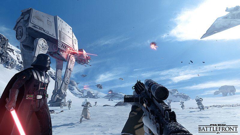 Star Wars Battlefront: Creando los mapas icónicos de Hoth