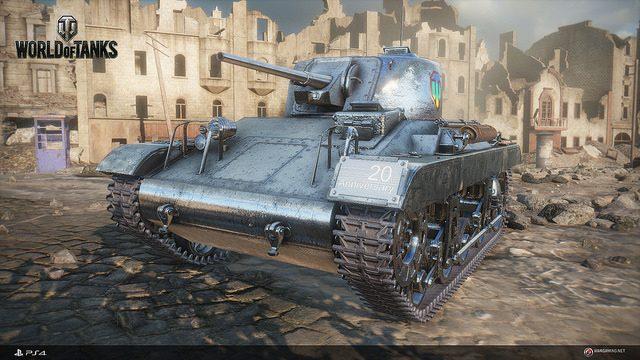 La versión beta abierta de World of Tanks llega a PS4 el 4 de diciembre
