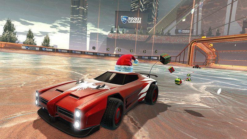 Rocket League: El evento de los Juegos de Invierno comienza el 14 de diciembre