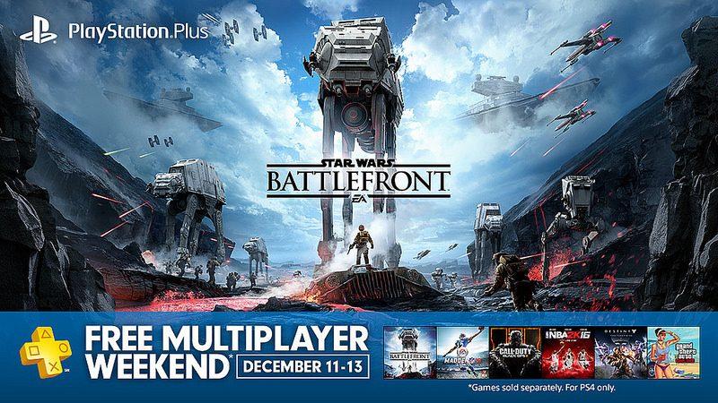 Este fin de semana todos los jugadores de PS4 podrán jugar en línea y de forma gratuita, juegos multiplayer