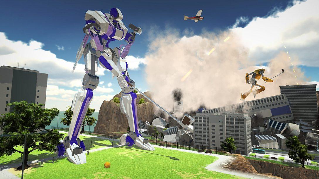 Bienvenidos a 100ft Robot Golf, disponible en PS4 el próximo año