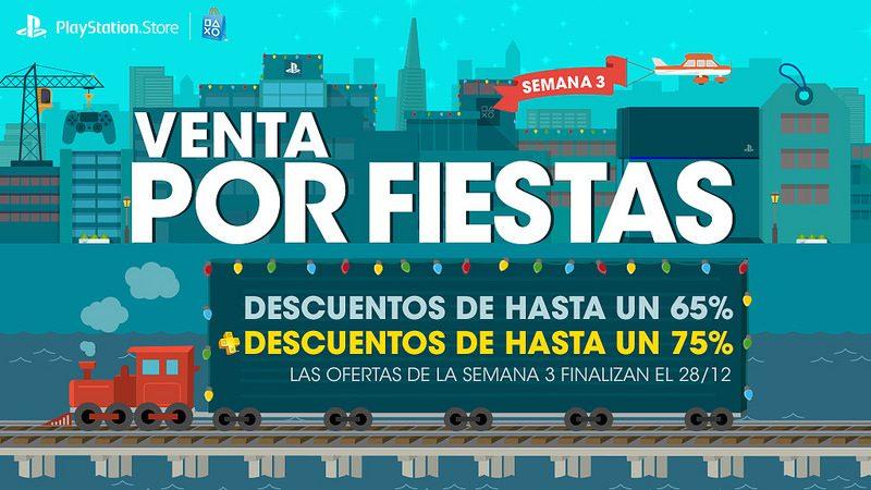Venta de Fiestas de Fin de Año para LATAM, tercera semana