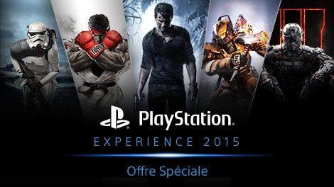 Oferta Especial de PlayStation Experience