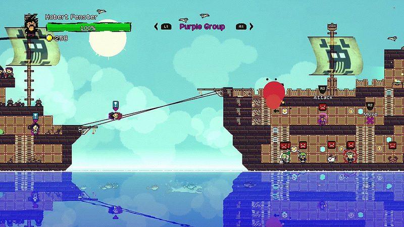 Pixel Piracy, el simulador pirata de mundo abierto, llega a PS4