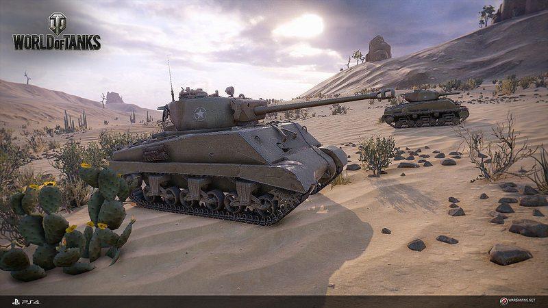 World of Tanks se Estrena hoy para PS4