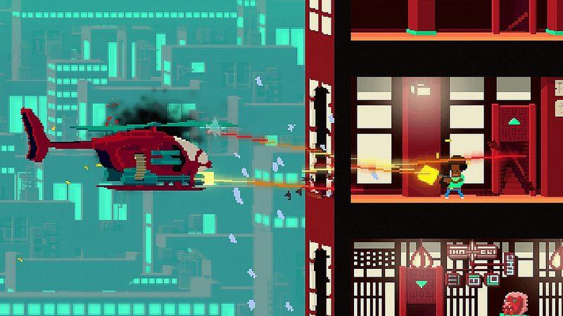 Not A Hero estará llegando a PS4 este 2 de febrero