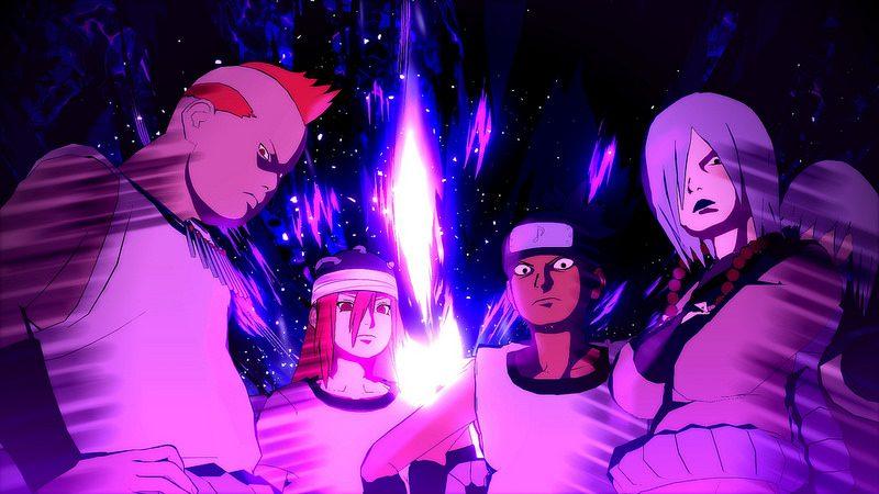 The Sound Four se une a Naruto Shippuden: Ultimate Ninja Storm 4 en PS4