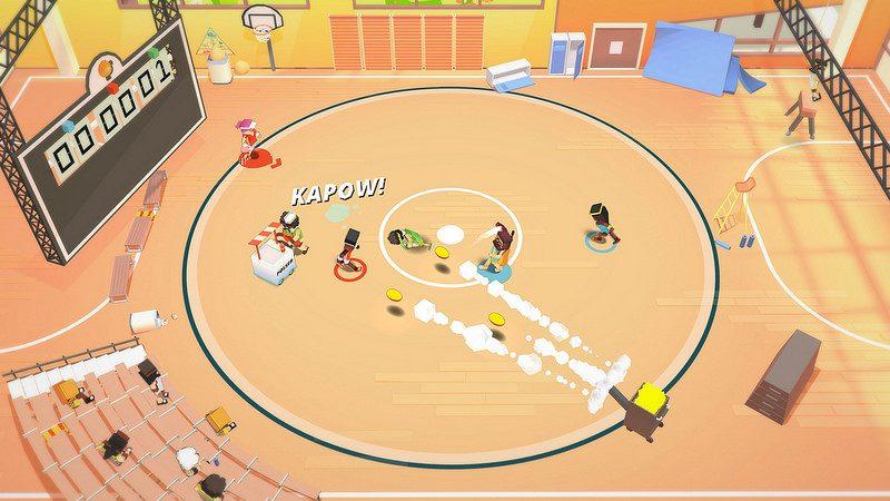 Stikbold! A Dodgeball Adventure llega a PS4