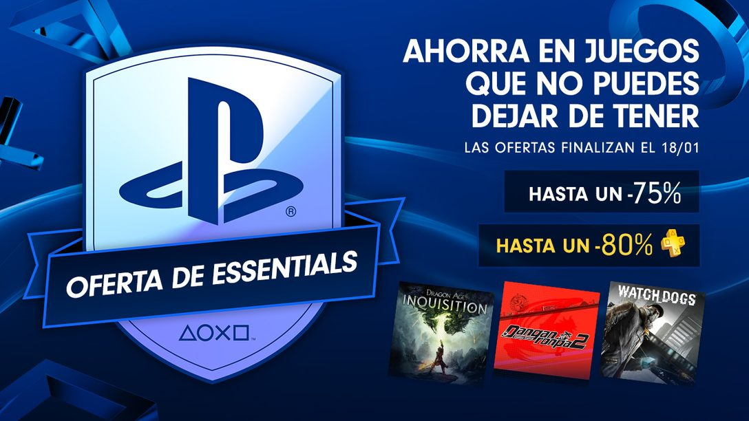 Oferta de PlayStation Essentials para México