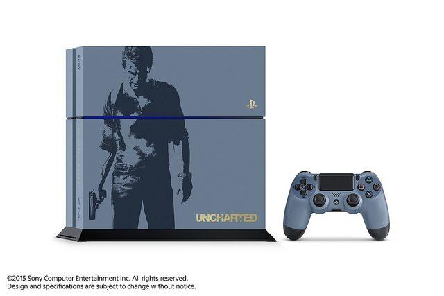 La Edición Limitada del Bundle de PS4 de Uncharted 4 estará disponible el 26 de abril 10 de mayo de 2016