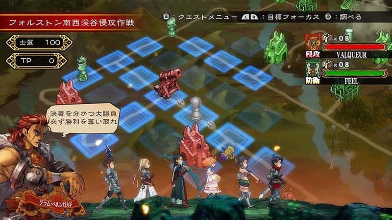 Grand Kingdom llega a PS4 y PS Vita el 21 de junio