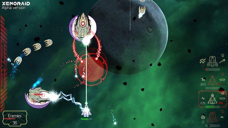 Presentación de Xenoraid, un juego de disparos con desplazamiento en PS4 y PS Vita
